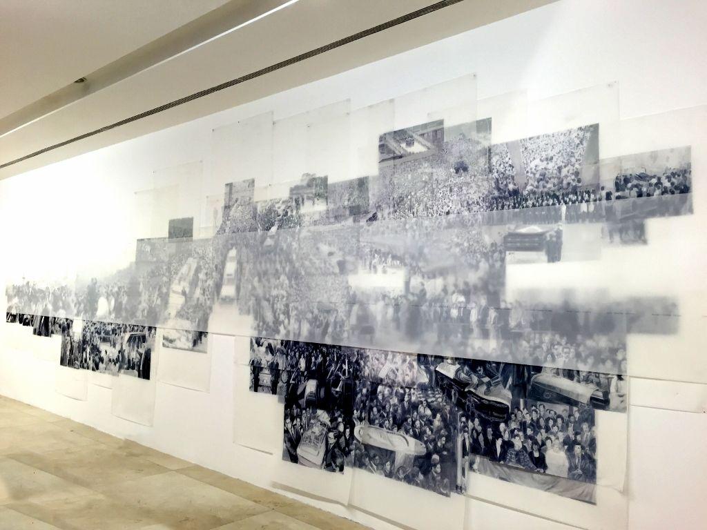 Vista de la exposición En nuestra pequeña región de por acá , de Voluspa Jarpa, en el MALBA, Buenos Aires, 2016. Cortesía de la artista y MALBA