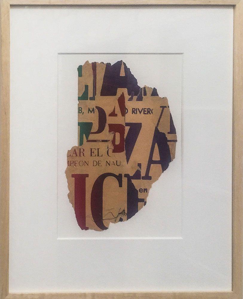 Santiago Rebolledo, Sin Título, Xerografía. 52 x 42 cm., 1978. Cortesía: Instituto de Visión, Bogotá, 2016