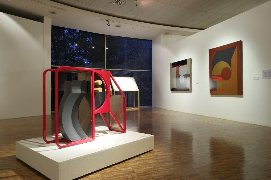 """Vista de la exposición """"Juan Acha. Por una nueva problemática artística"""", en el Museo de Arte Moderno de México (MAM), Ciudad de México, 2016. Cortesía: MAM"""