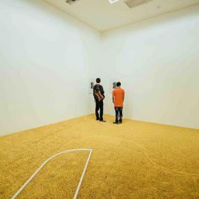 Daniel Steegmann Mangrané. (Paisaje de posibilidades). Vista de la muestra. Museo de Arte Moderno (MAMM). Medellín, Colombia. 2016. Foto cortesía del artista.
