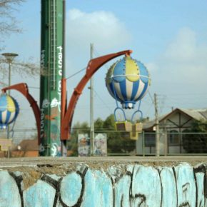 Andrés Durán. Ejercicios para Distraer la Mirada. 2012. 2´35´´. Parte de la muestra: Astrolab. MAM Museo de Arte Moderno de Chiloé, Castro, Chile. 2016. Still frame cortesía del artista.