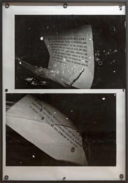 Nicolás Franco, Ojos, 2014, monotipo digital sobre papel de algodón, alcohol isopropílico, imanes cerámicos y acero, 226 x 158 x 6 cm. Foto: Jorge Brantmayer