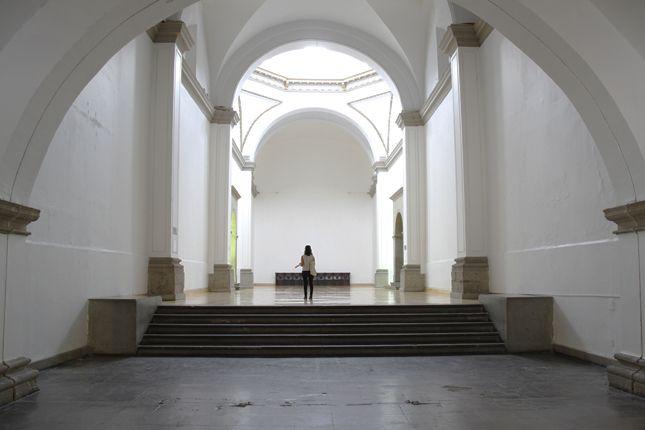 Mario de Vega, Sin, 2013, instalación sonora en Laboratorio Arte Alameda. Cortesía: LAA