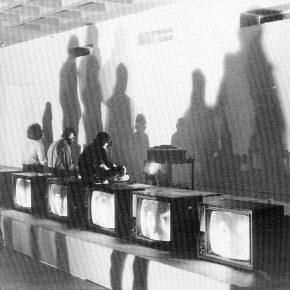 Juan Downey, detalle de Plato Now, 1973. Foto: Harry Shunk. Cortesía: Marilys Belt de Downey, NY