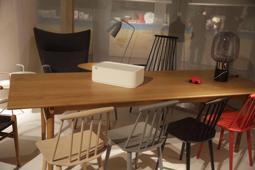 Nórdico: Diseño Escandinavo. Vista de la muestra en el Centro Cultural Gabriela Mistral (GAM), Santiago de Chile, 2016. Foto cortesía: Masisa