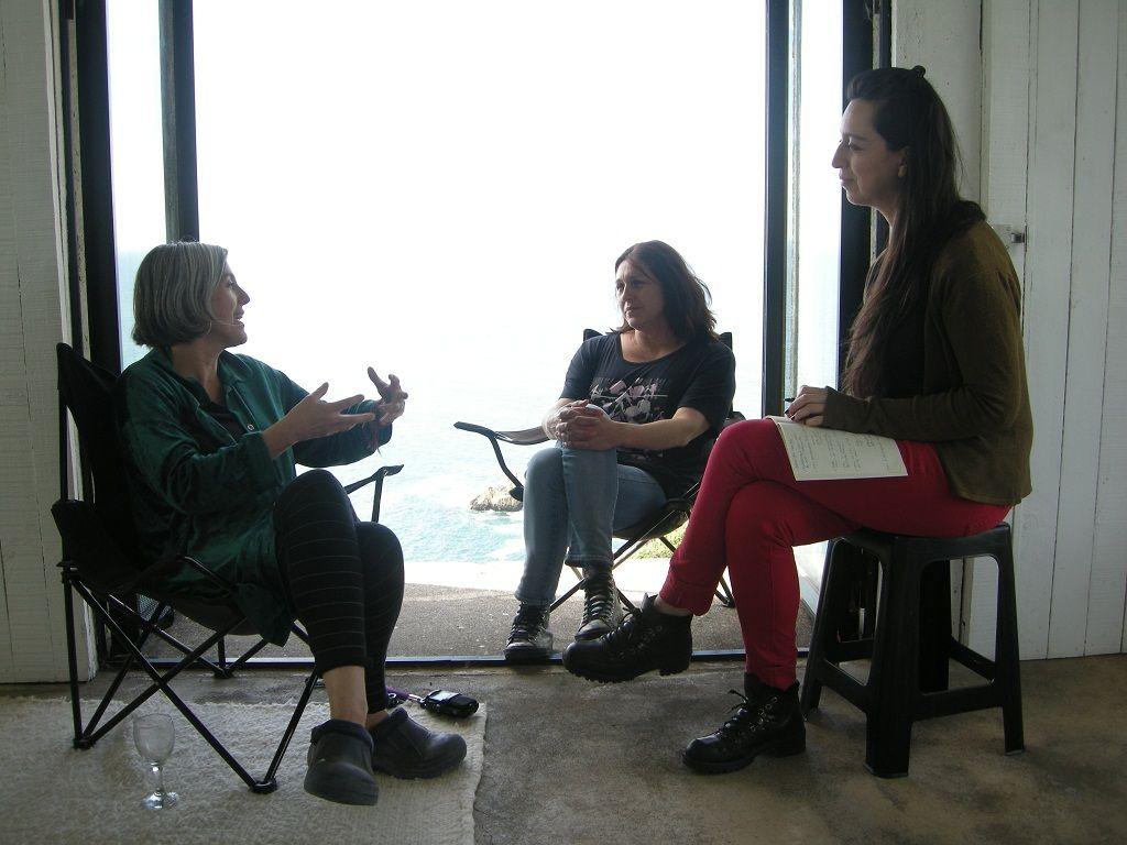 Entrevista realizada por Carolina Lara a De Cortillas y Carrasco