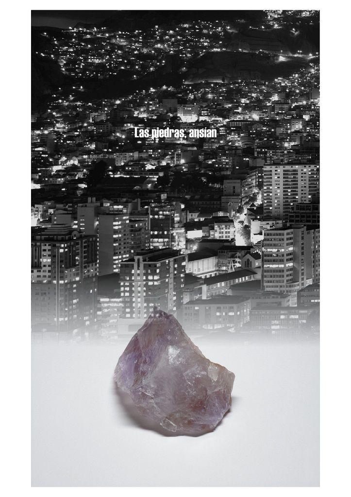 Francis Naranjo. Las piedras sueñan. Imagen gentileza Interdesign, Santiago de Chile. 2016