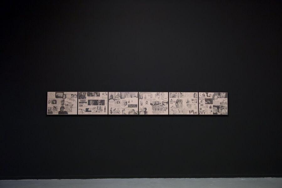 Javier Rodríguez, Pesadilla. Vista de la exposición Historia Mutante, en el Museo de Arte Contemporáneo (MAC), Quinta Normal, Santiago de Chile, 2016. Foto: María José Canales/MAC