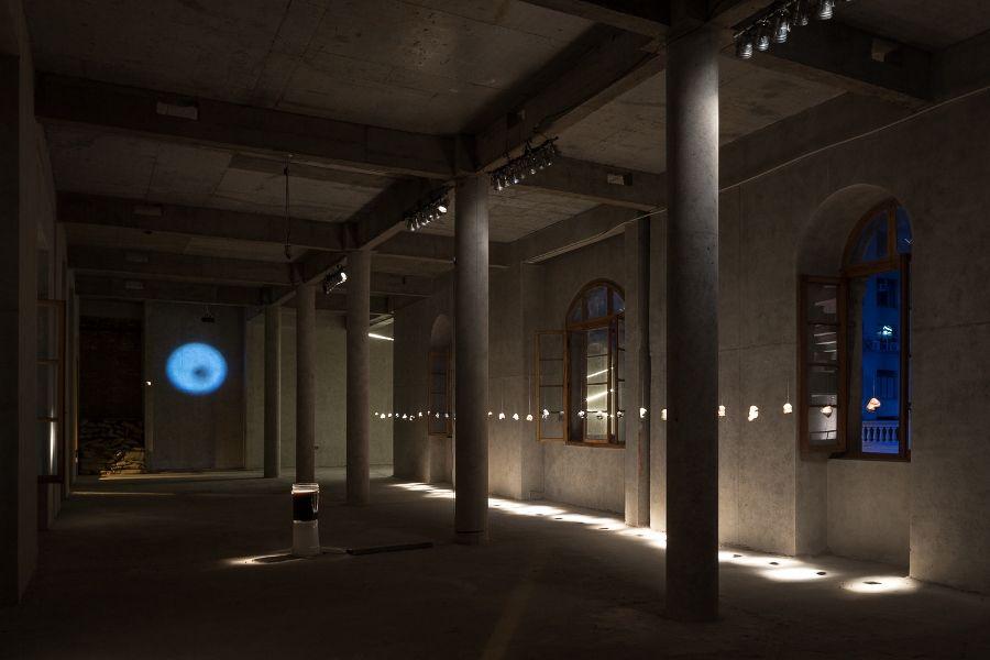 Vista de la exposición Compañía 1263, Santiago de Chile, 2017. Foto: Felipe Ugalde