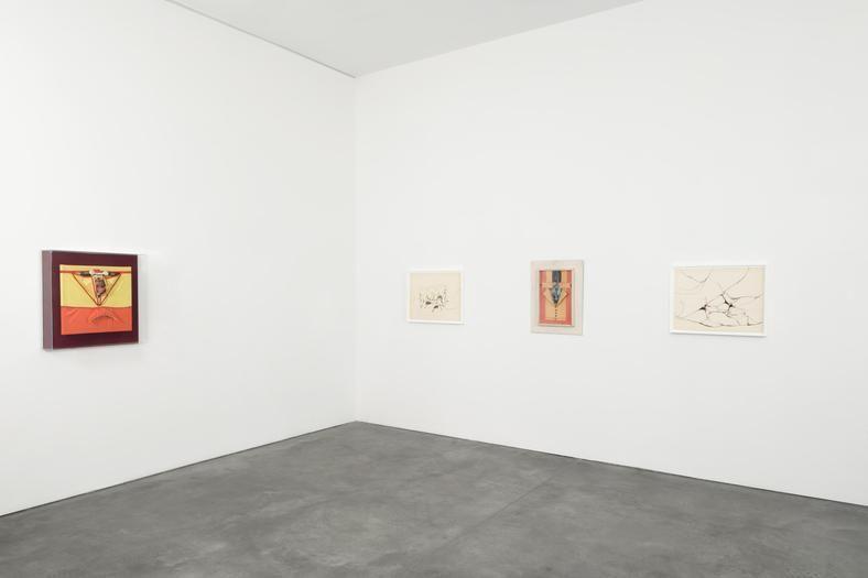 Vista de la exposición de Miguel Angel Cárdenas en Andrea Rosen Gallery, Nueva York, 2017. Cortesía de la galería