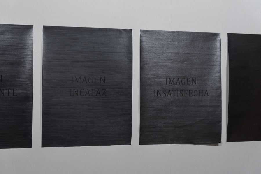 Magdalena Quijano, El verdadero valor de lo falso, vista de la instalación, 2016. Cortesía de la artista. Foto: Jorge Brantmayer