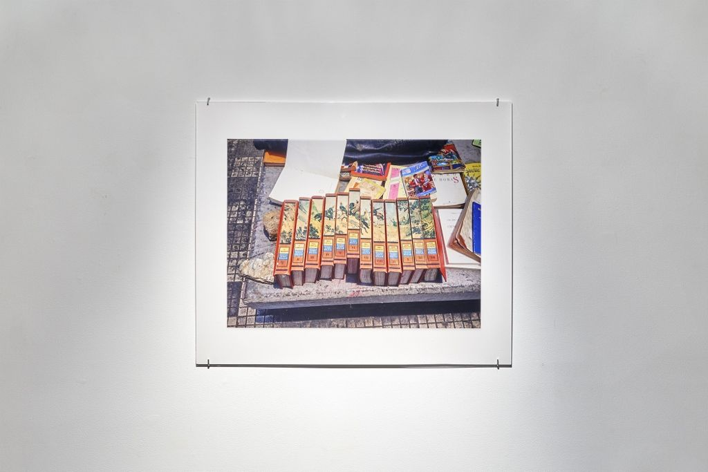 Vista de la exposición Works on Paper, de Luis Molina-Pantin, en Henrique Faria Fine Art, Nueva York 2016. Cortesía de la galería