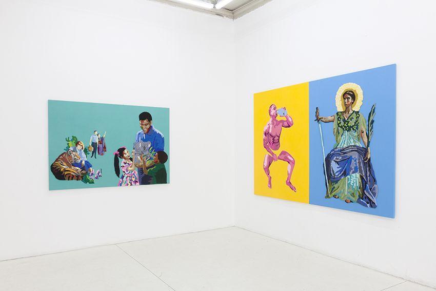 Jesús Monteagudo, No habrá testigos, 2016. Vista de la exposición en Die Ecke Arte Contemporáneo, Santiago. Cortesía del artista