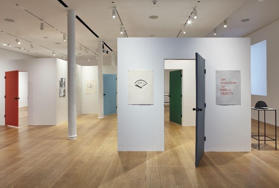 """Vista de la exposición """"Undo List"""", de Mateo López, en The Drawing Center, Nueva York, 2017. Cortesía: The Drawing Center"""