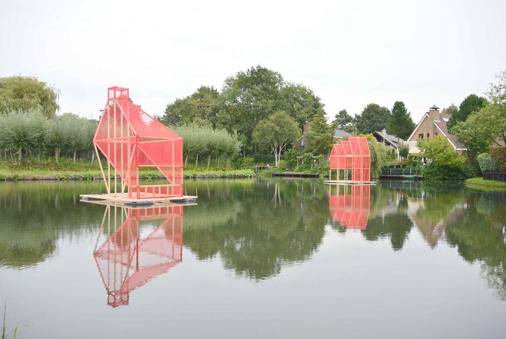 Oscar Abraham Pabón, Escultura Flotante, 2015, Rotterdam. Cortesía del artista