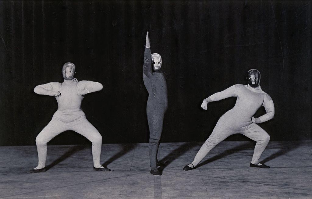 Oskar Schlemmer, Bauhaustänze, Raumtanz / Danses du Bauhaus, danse de l'espace, 1926