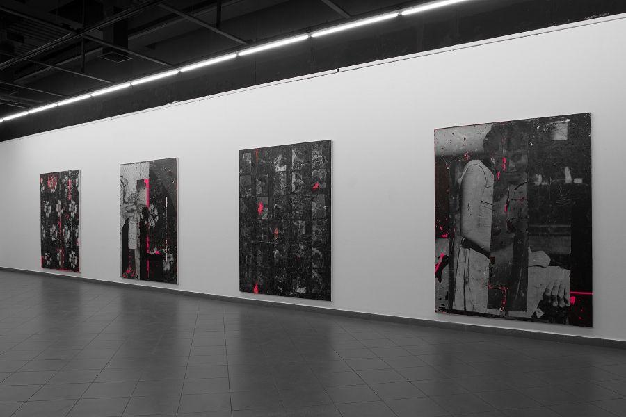 Nicolás Franco, City of Women. Vista de instalación, Museo Nacional de Bellas Artes, Sala Vespucio, Santiago de Chile, 2017. Cortesía del artista