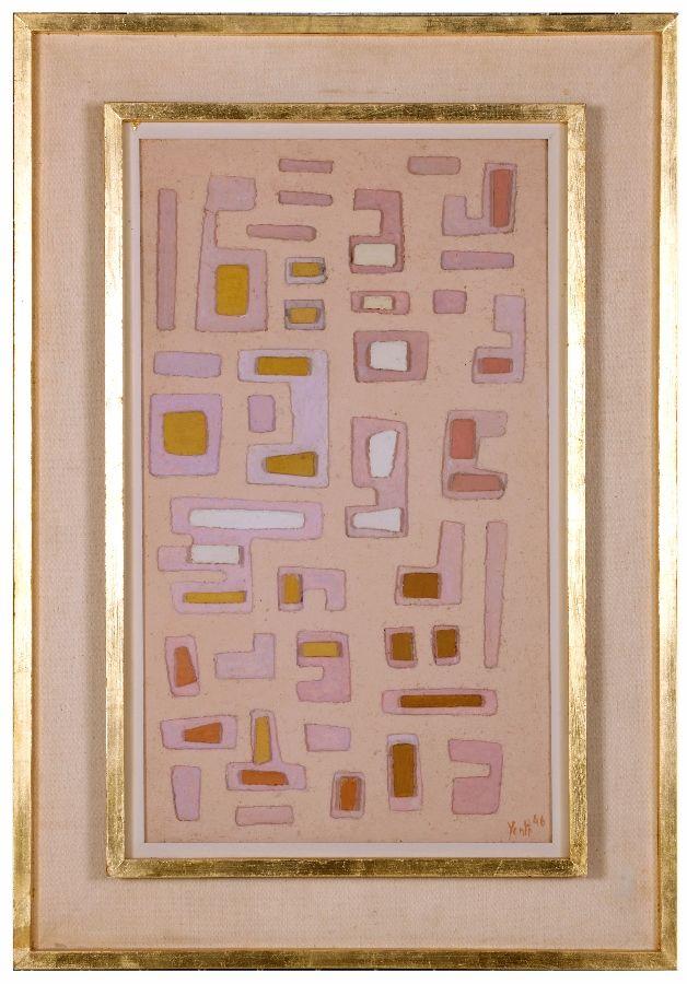 08. Yente (Eugenia Crenovich), Sin título, 1946. Colección Eduardo Costantini, Buenos Aires