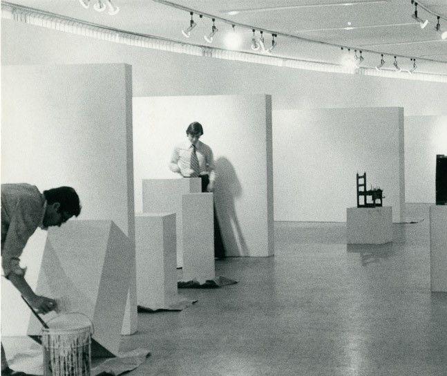 Adecuación de salas, sede Planetario Distrital, 1972. Foto: Archivo MAMBO