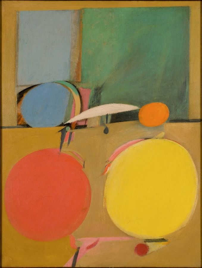 Willem De Kooning. Sin título, ca. 1939. Óleo sobre papel, montado sobre lienzo, 95,8 x 73,7 cm. Colección particular © The Willem de Kooning Foundation, Nueva York /VEGAP, Bilbao, 2016