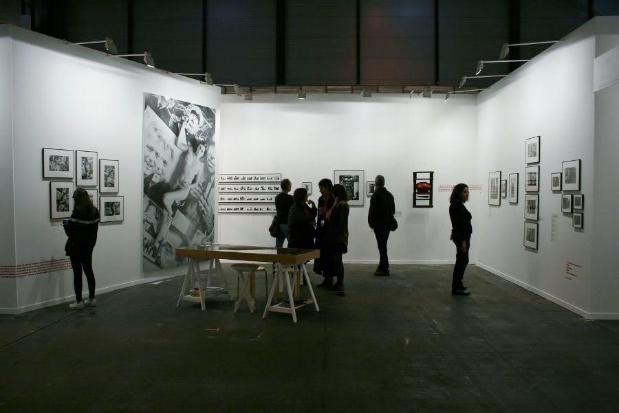 Liliana Maresca en Rolf Art, feria ARCOmadrid 2017. Foto: Alejandra Villasmil
