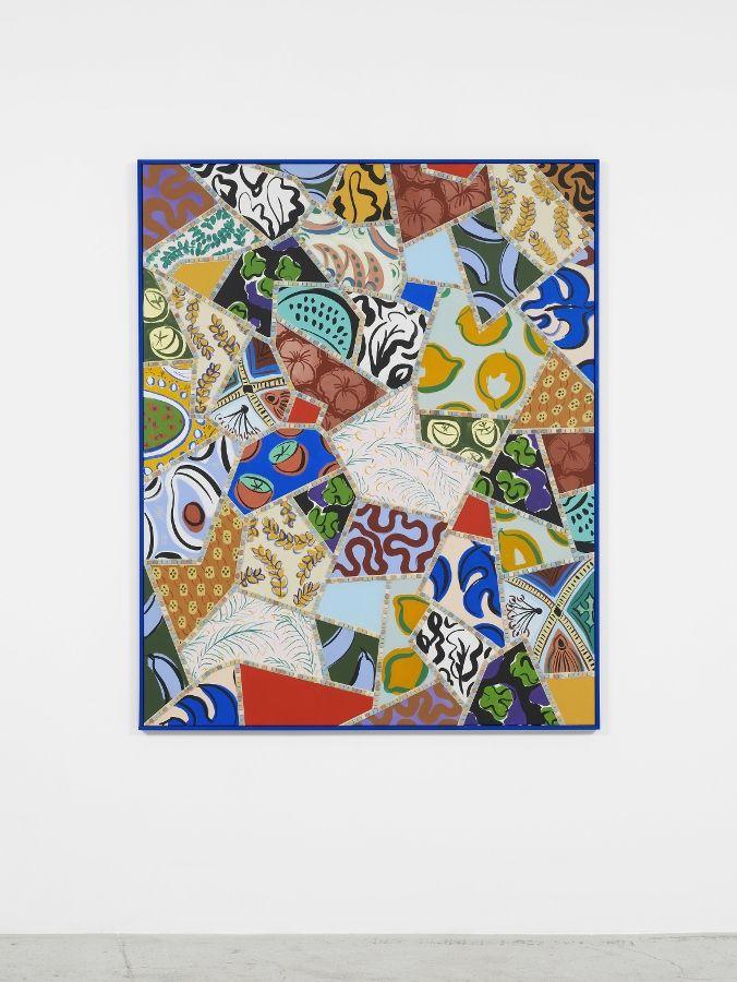 Sol Calero, Solo Pintura, 2016. En Laura Bartlett Gallery. Cortesía: Material Art Fair