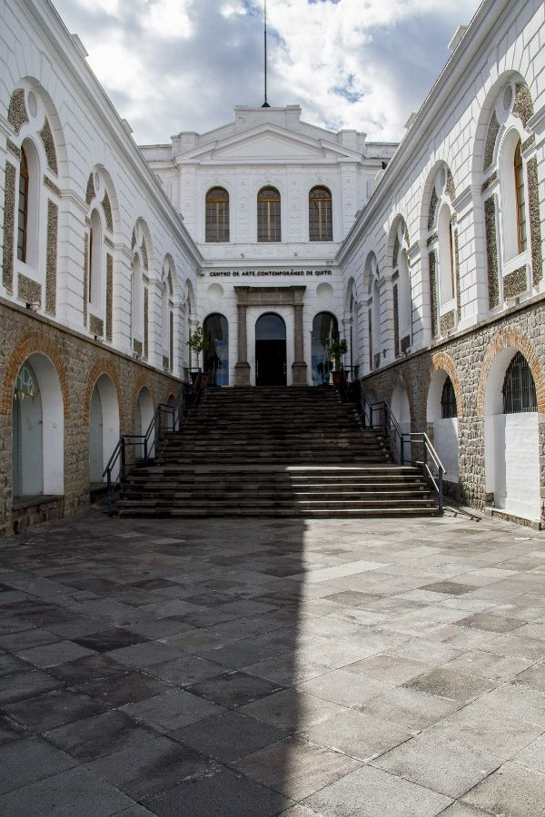 Centro de Arte Contemporáneo de Quito – CAC. Foto: Pablo Jijón