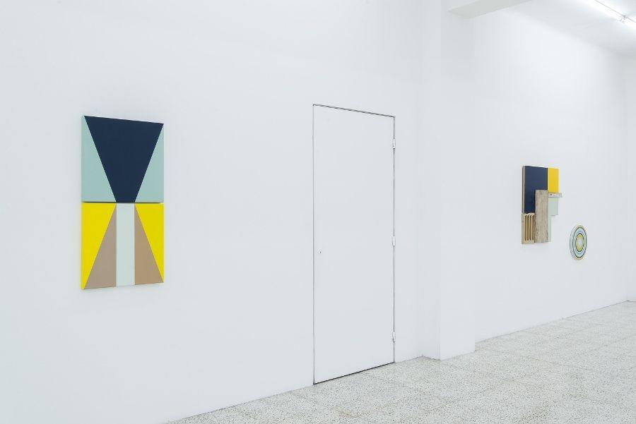 """Vista de la exposición """"Vulcanidad"""", de Diana de Solares, en The 99.9 Gallery, Ciudad de Guatemala, 2017. Foto cortesía de la galería"""