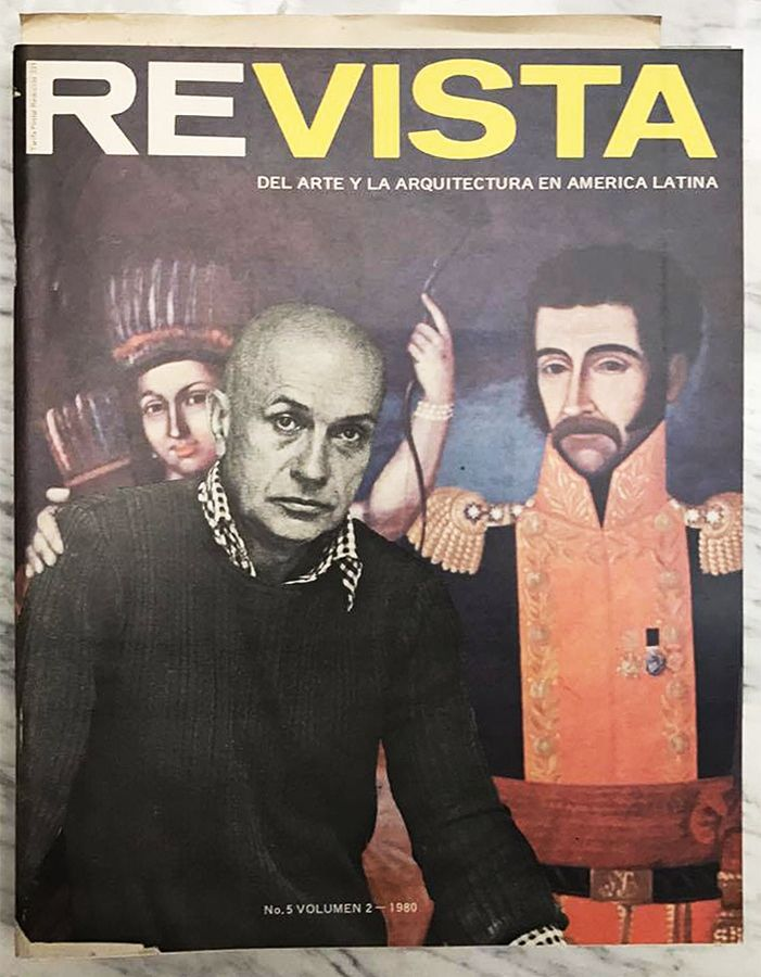 Re-Vista del Arte y la Arquitectura en América Latina N-5 Volumen 2, 1980. Cortesía: Julián Posada