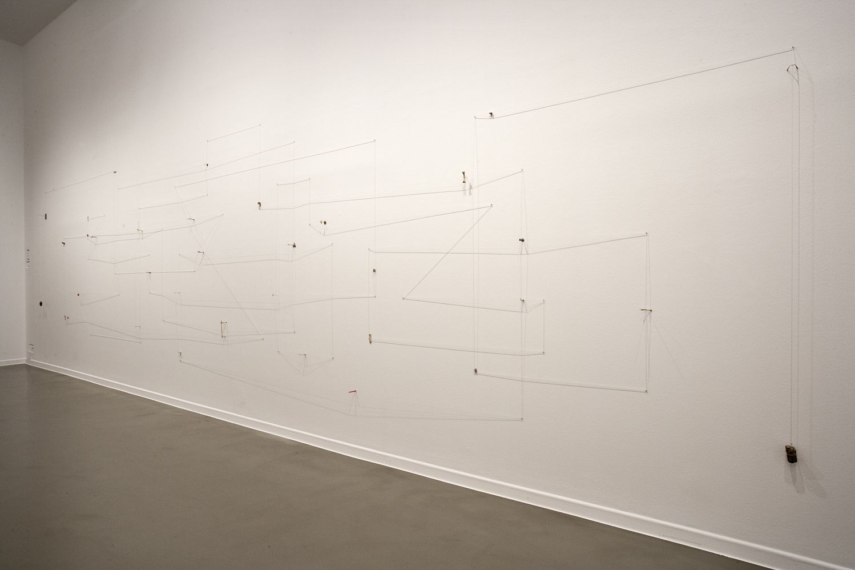 """Nicolás Robbio, """"Ejercicios de Resistencia"""", vista de la exposición en La Casa Encendida, Madrid, 2017. Cortesía: La Casa Encendida"""