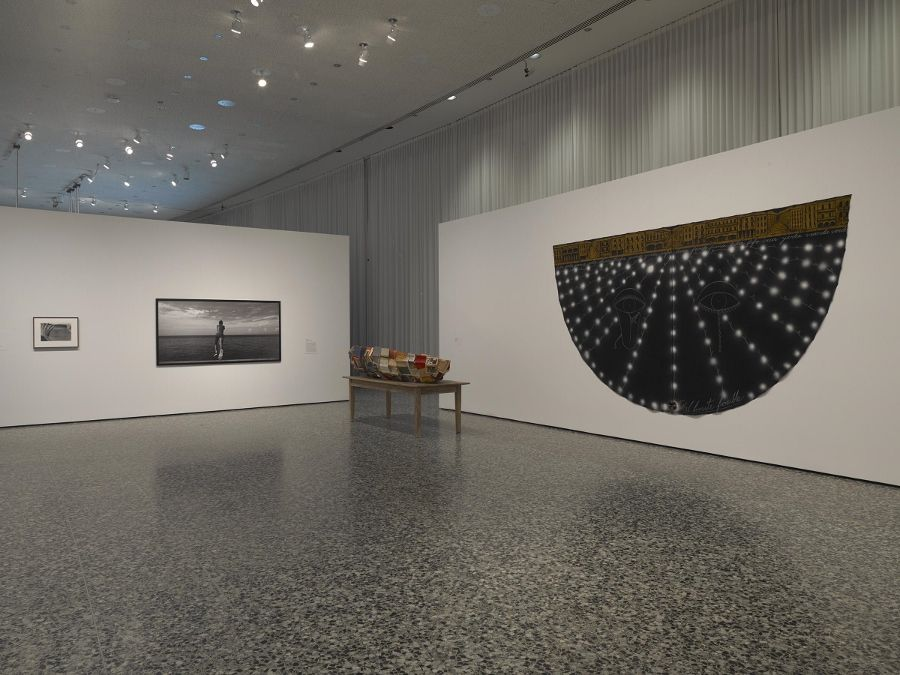 "Vista de la exposición ""Adios Utopia: Dreams and Deceptions in Cuban Art Since 1950"", en el Museum of Fine Arts, Houston, 2017. Foto: Will Michels"