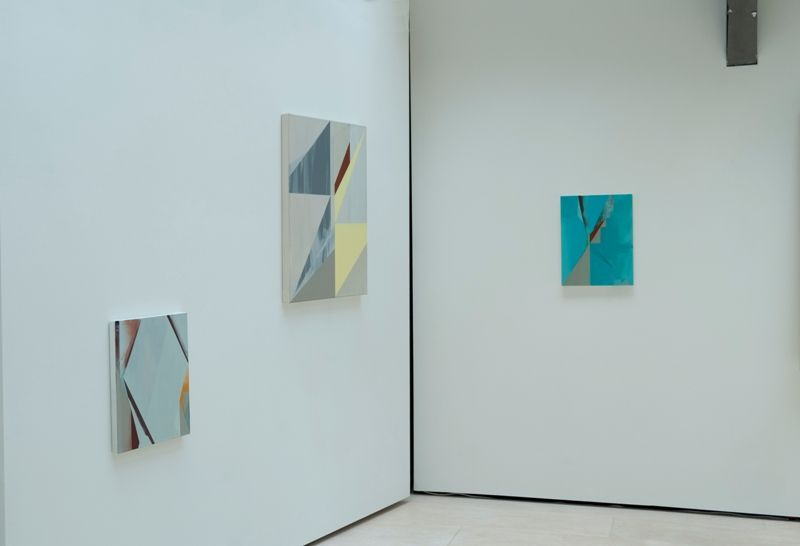 """Vista de la exposición """"Guarimba"""", de Jaime Gili, en Cecilia Brunson Projects, Londres, 2017. Cortesía del artista y la galería"""