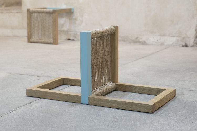 """Engel Leonardo, vista de la exposición """"Ansapit"""", en la galería Fomatocomodo, madrid, 2017. Cortesía de la galería"""