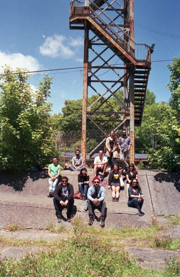 Residentes del proyecto Monumento, curado por Ignacio Szmulewicz. Foto: Ignacio Szmulewicz