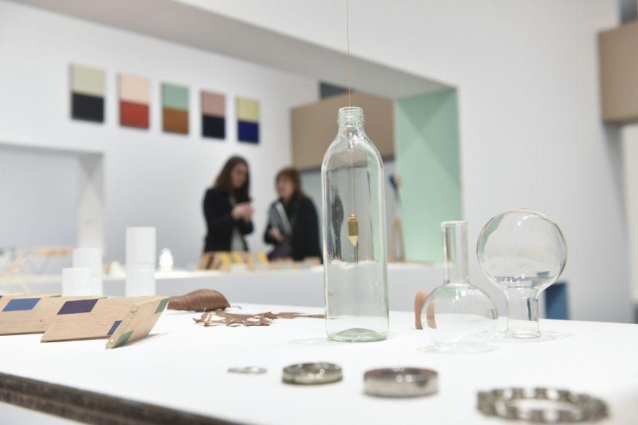 """Nicolás Paris, vista de la exposición """"Ejercicios para Sembrar Relámpagos"""", en CaixaForum Barcelona, 2017. Foto: Oak Taylor-Smith"""