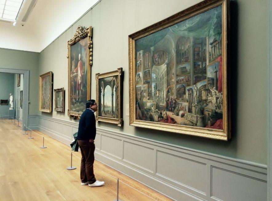 Vista panorámica de una de las salas del Metropolitan Museum de Nueva York. Foto: Paco Barragán