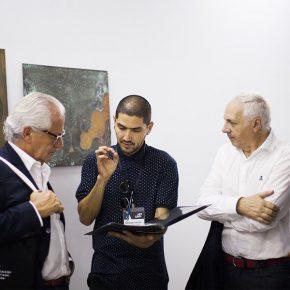 CHILENO SANTIAGO CANCINO GANA PREMIO CA.SA EN EL MARCO DE ARTLIMA
