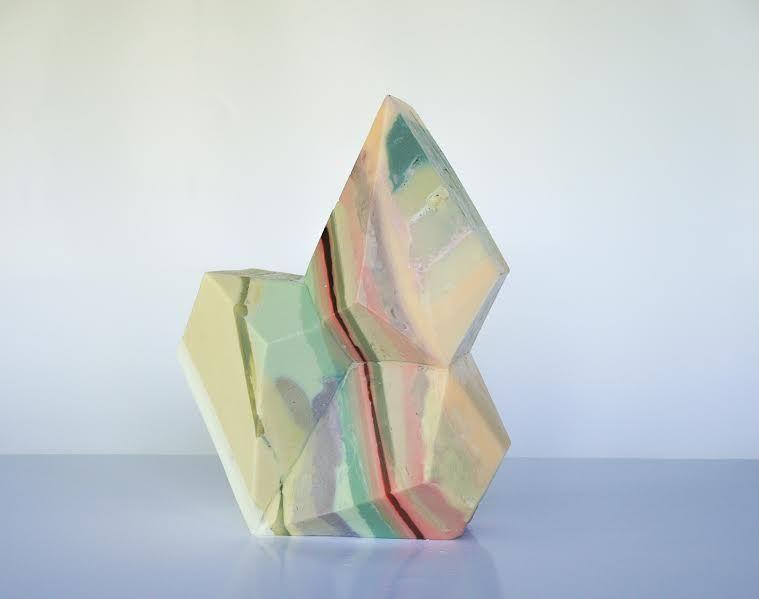 Magdalena Rojas en Galería NAC. ArtLima, 2017. Cortesía de la galería