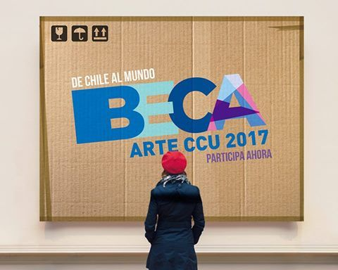 ABIERTA CONVOCATORIA A BECA DE ARTE CCU 2017
