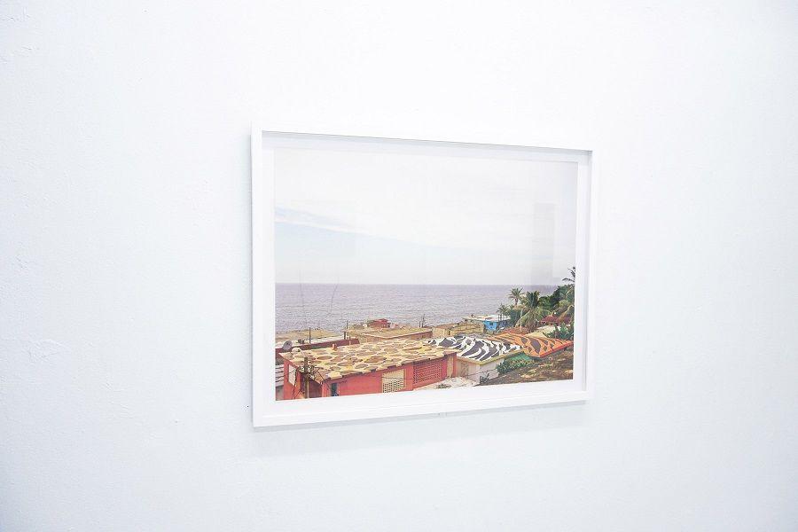 """Radamés """"Juni"""" Figueroa, Salvajismo Caribeño, 2008, pintura industrial sobre techo (Intervención). Cortesía: Km 0.2"""