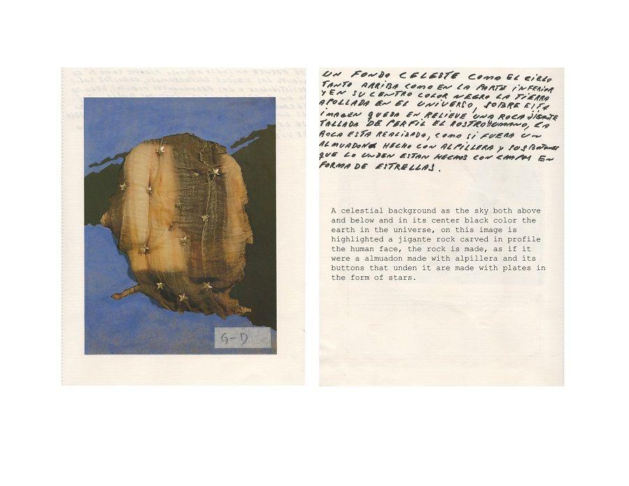 José Luis Landet, Descripciones Arte del s.XX, 2014-2016, collage, tinta sobre papel e impresión digital, medidas variables. Walden, Buenos Aires