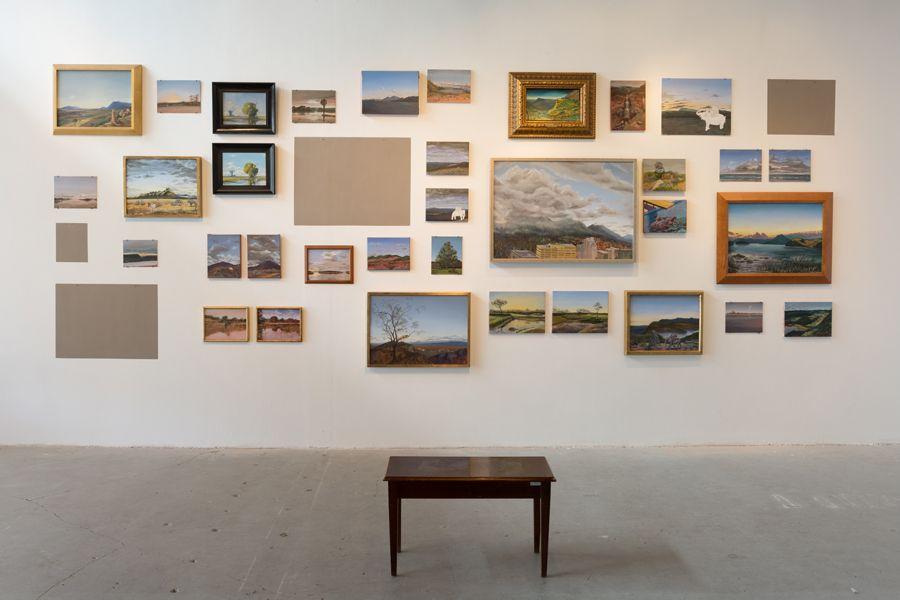 Obra Estudios comparados del paisaje de Alberto Baraya en Espacio Odeón