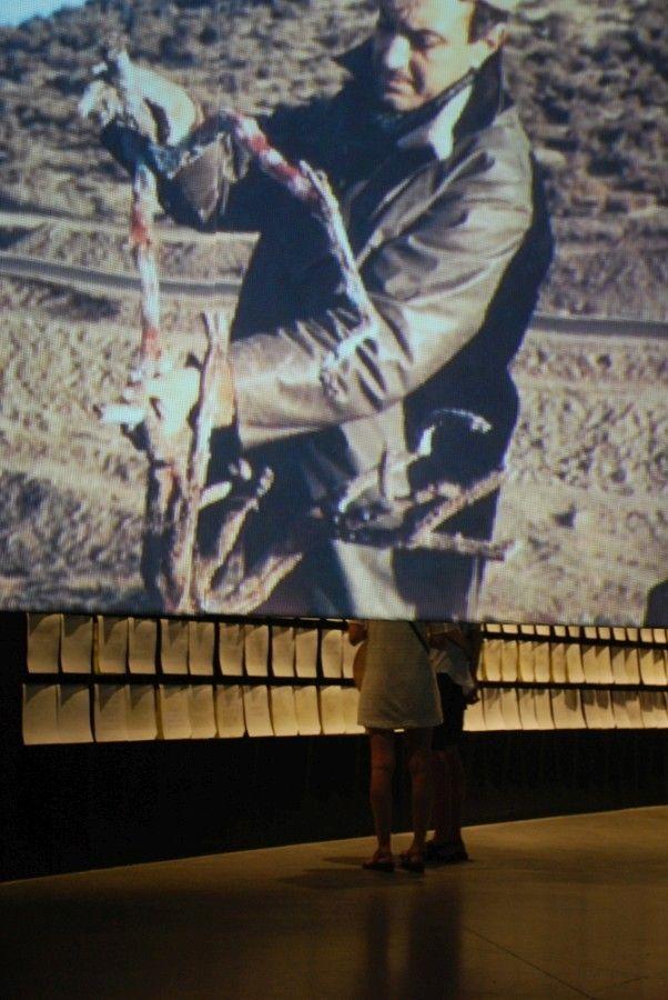 """Exposición """"La invención de un mar: Amereida 1965-2017"""", en el Museo Nacional de Bellas Artes, Santiago de Chile (13 enero – 19 marzo, 2017). Foto: © Corporación Cultural Amereida"""