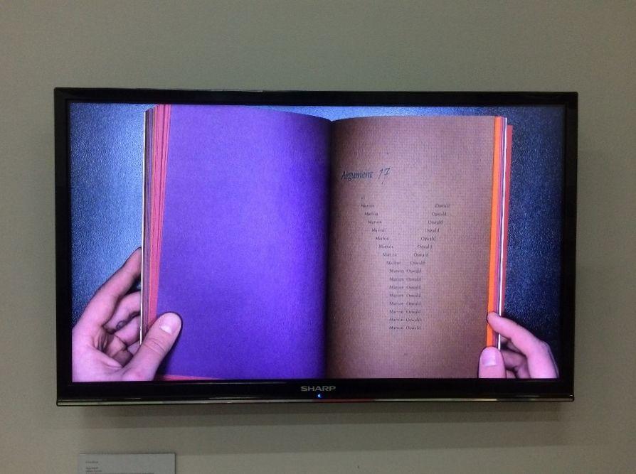 Ulises Carrión. Vista de la exposición de Beau Geste Press en el CAPC, 2017. Foto: Alejandra Villasmil