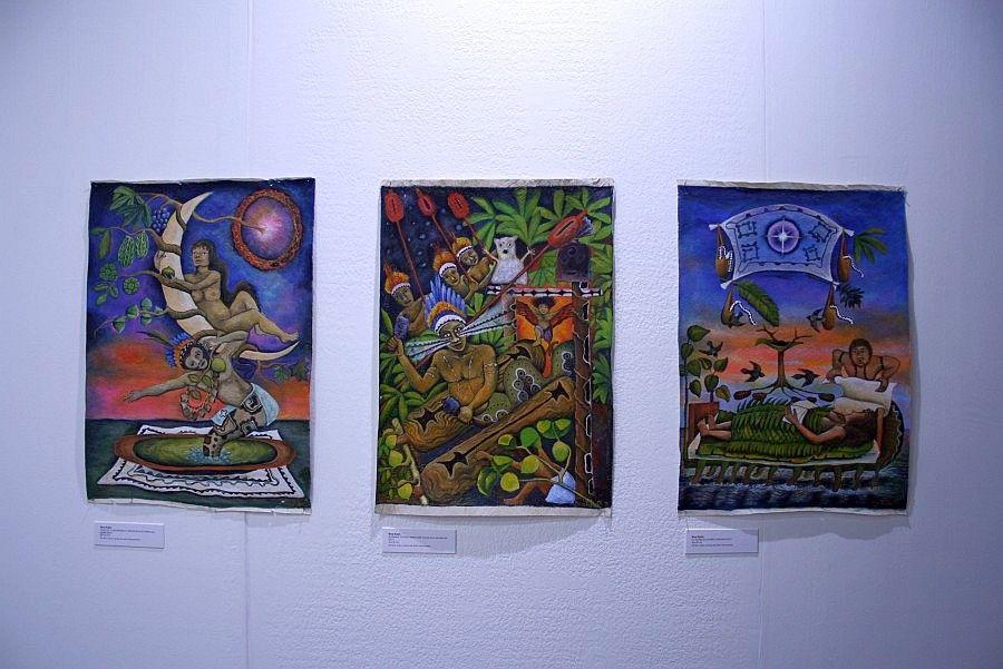 Brus Rubio en Bufeo, Lima. Premio en Obra para esta galería de la sección Barrio Joven de la feria arteBA 2017. Foto: Alejandra Villasmil
