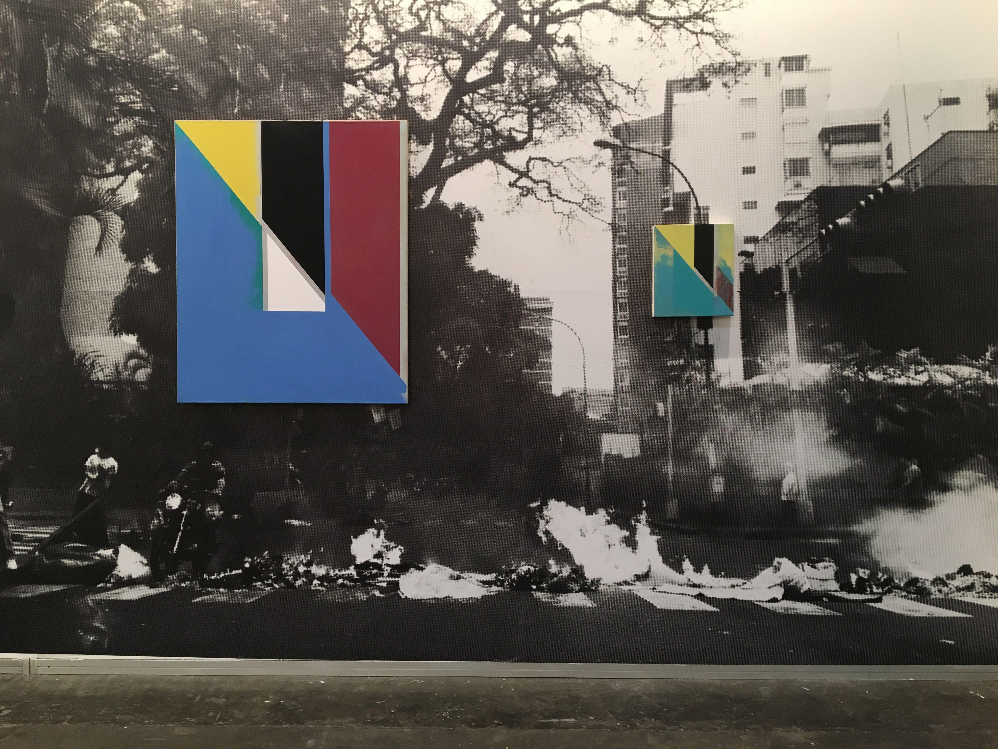 Jaime Gili, Guarimba, 2017, en (bis) Oficina de Proyectos, Colombia. Feria arteBA 2017. Cortesía de la galería