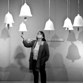 Marie Orensanz, ganadora del premio Julio Le Parc del concurso de escultura pública SLS Lux, de Related Group para Puerto Madero. Cortesía: Related Group