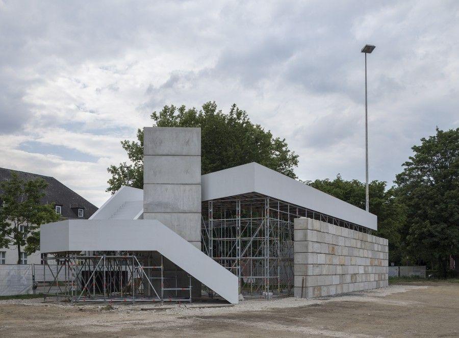 Christian Odzuck. Cortesía: Skulptur Projekte Münster, 2017