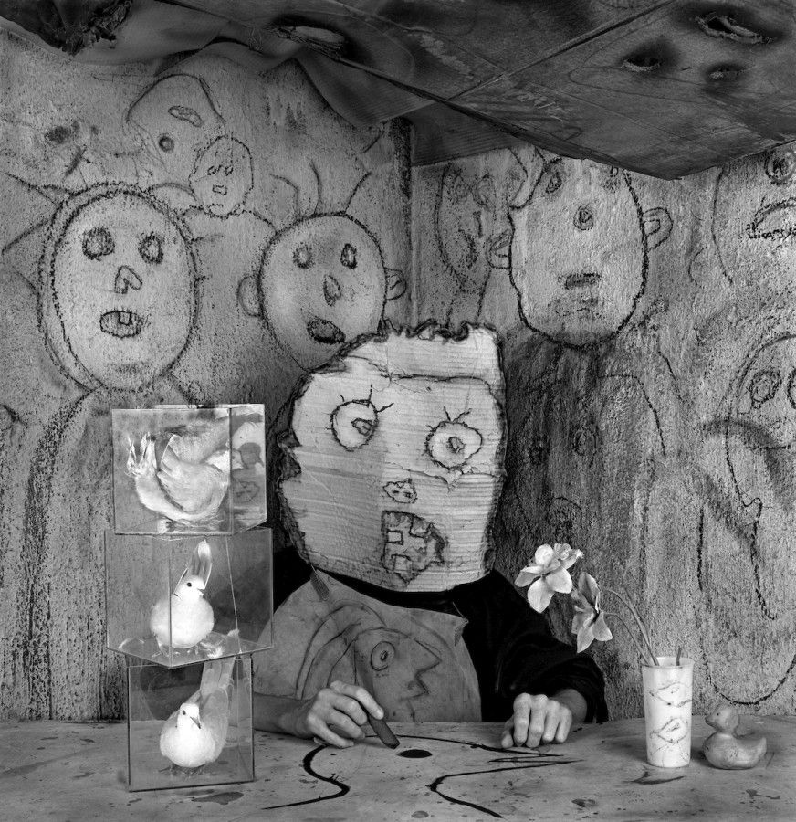 Roger Ballen, Artist, from the Asylum of the Birds series, 2013. Copyright: Roger Ballen