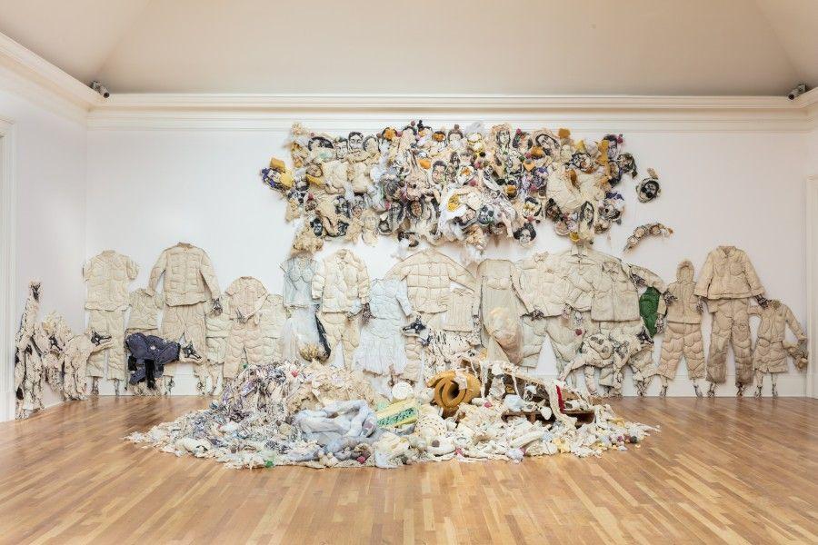 Elsa María Meléndez, El lngenio Colectivo o la Maldición de la Cotorra, 2017. Cortesía: Newcomb Art Museum, Tulane University